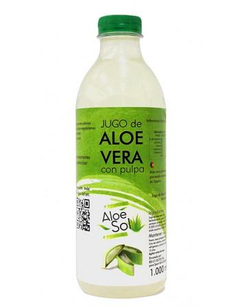 Pulpa de Aloe vera ALEOSOL